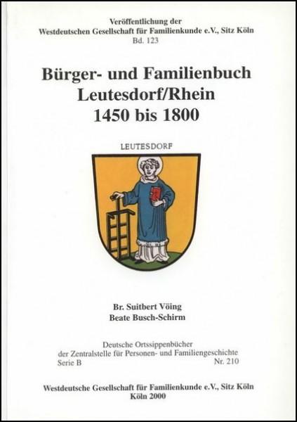 Familienbuch Leutesdorf