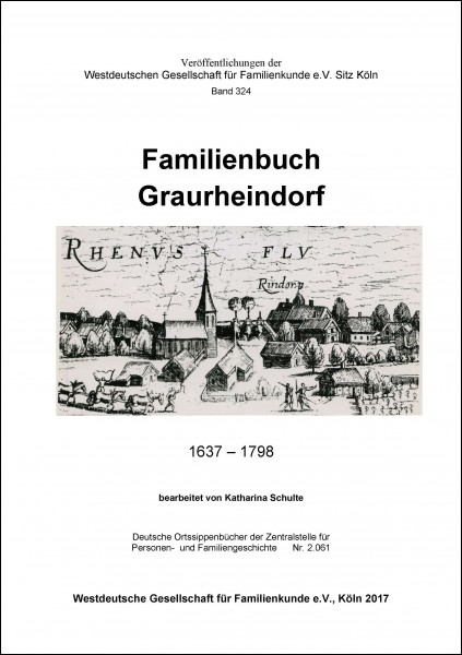 Familienbuch Graurheindorf 1637-1798