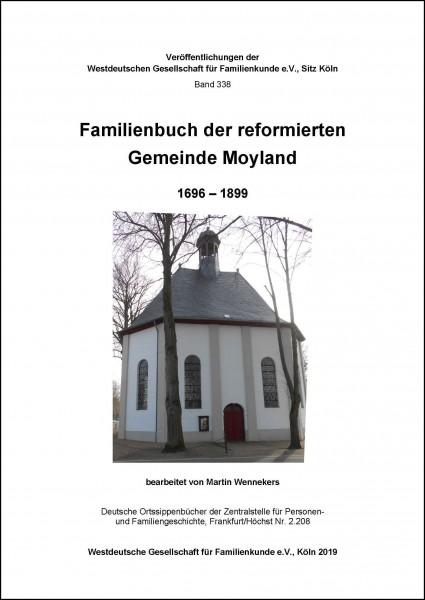 Familienbuch ref. Moyland 1696-1899