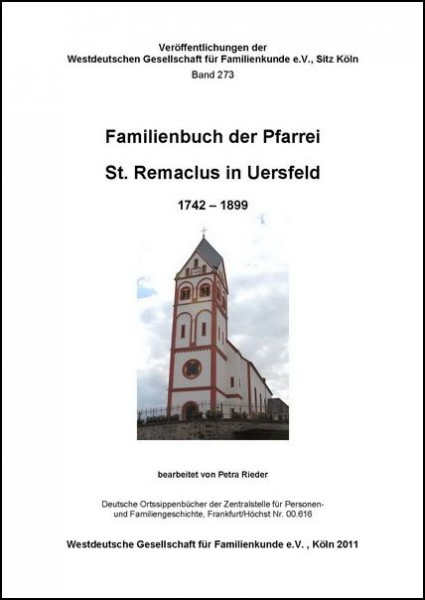 Familienbuch Uersfeld