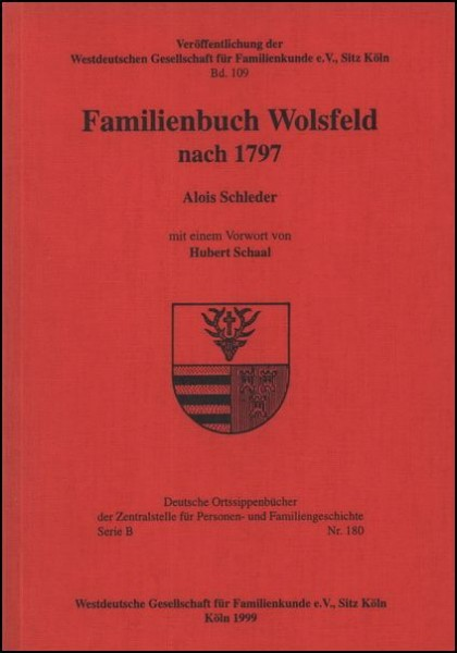 Familienbuch Wolsfeld