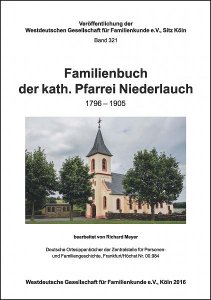 Familienbuch Niederlauch 1796 – 1905