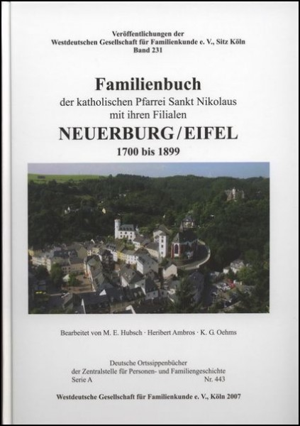 Familienbuch Neuerburg / Eifel