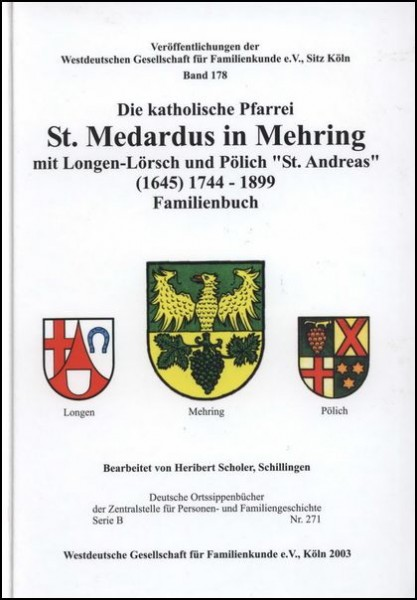 Familienbuch Mehring