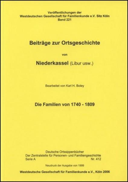 Familienbuch Niederkassel