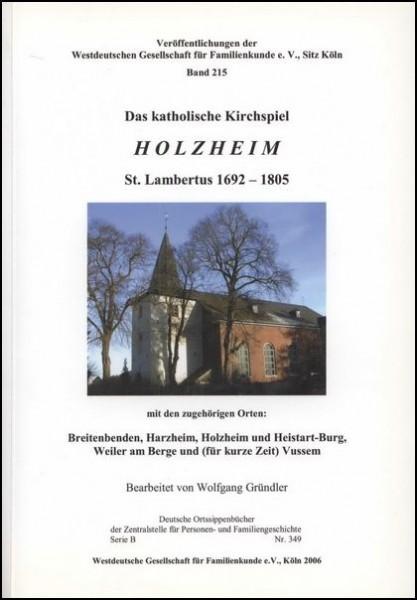 Familienbuch Holzheim (Mechernich)