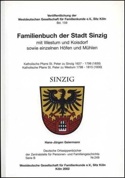 Familienbuch Sinzig