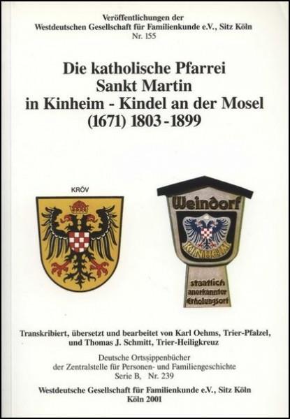 Familienbuch Kinheim - Kindel