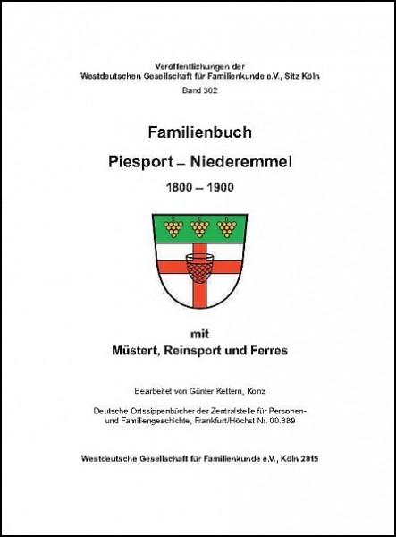 Familienbuch Piesport-Niederemmel 1800 - 1900