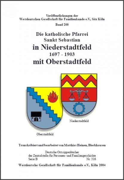 Familienbuch Niederstadtfeld