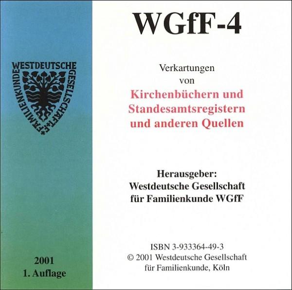 Verkartungen auf CD/DVD: WGfF-4 (Vol. 4)