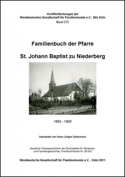 Familienbuch Niederberg