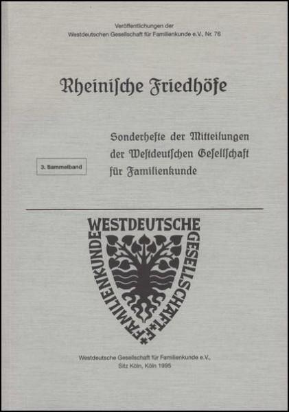 Rheinische Friedhöfe Heft: 15-20