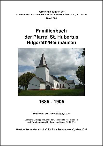 Familienbuch Hilgerath-Beinhausen 1685-1905