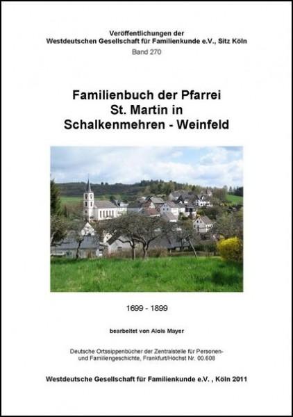 Familienbuch Schalkenmehren / Weinfeld