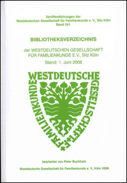 Bibliotheksverzeichnis der WGfF 2008