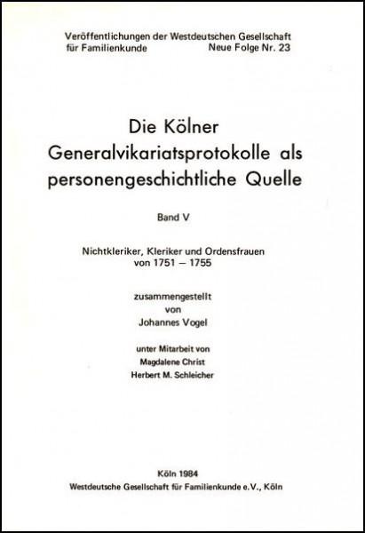 GVP - Bd. 05: 1751 - 1755