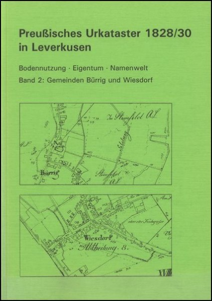Preußisches Urkataster in Bürrig u. Wiesdorf