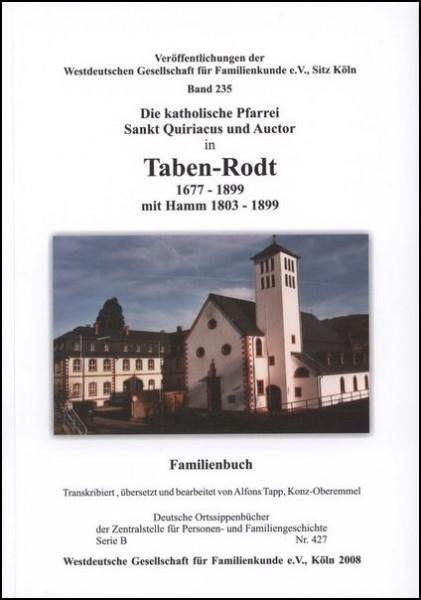 Familienbuch Taben-Rodt
