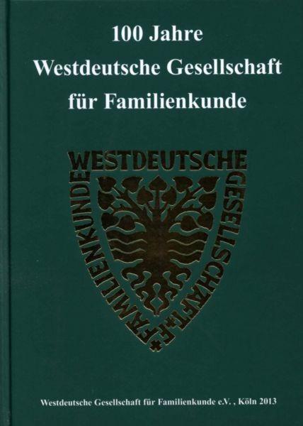 100 Jahre Westdeutsche Gesellschaft für Familienkunde