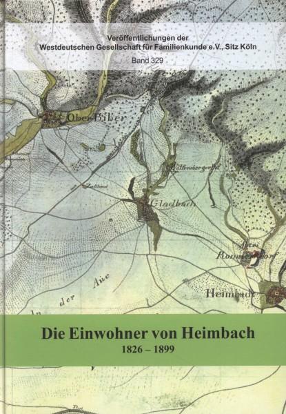 Familienbuch Heimbach (heute Stadtteil von Neuwied) Teil II. 1826-1899