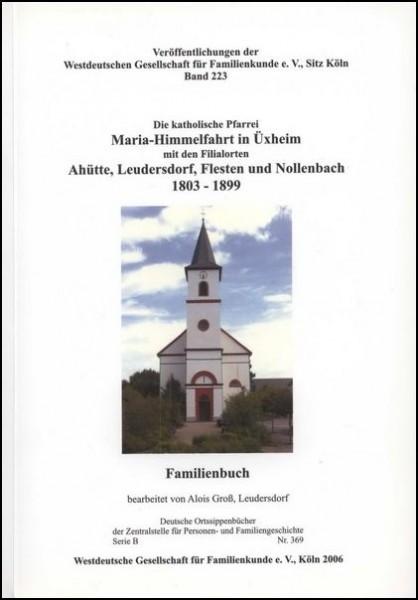 Familienbuch Üxheim 1803 - 1899