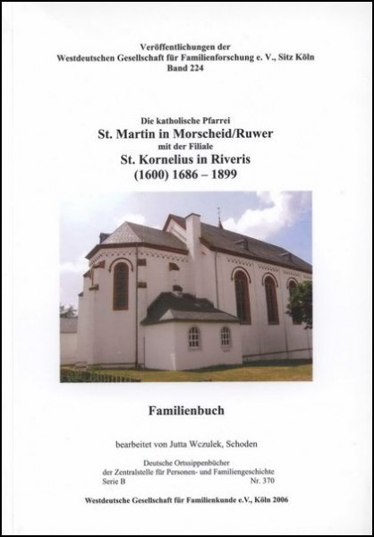 Familienbuch Morscheid / Ruwer