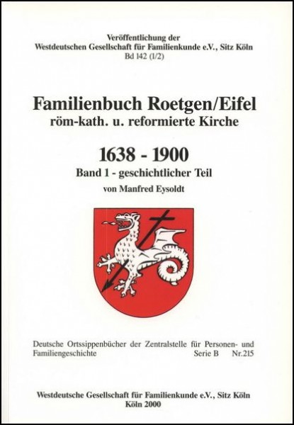Familienbuch Roetgen / Eifel