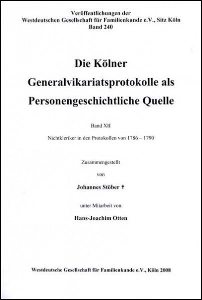 GVP - Bd. 12: 1786 - 1790