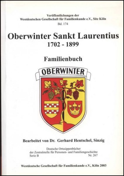 Familienbuch Oberwinter
