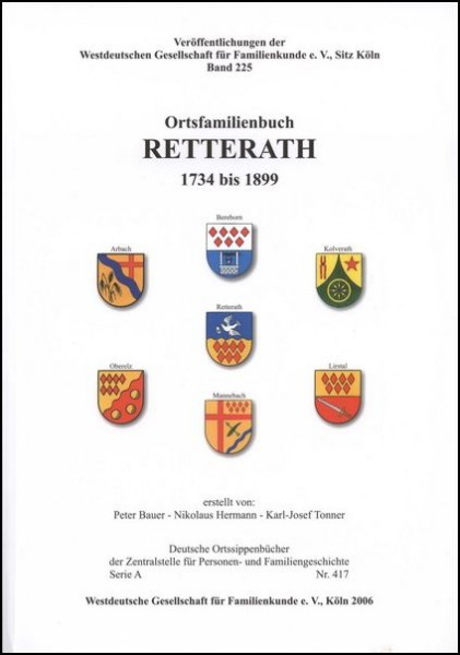 Familienbuch Retterath