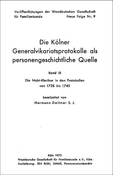 GVP - Bd. 03: 1726 - 1740