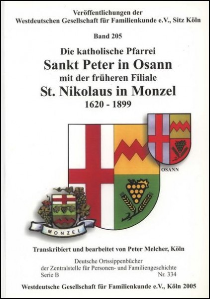 Familienbuch Osann / Monzel