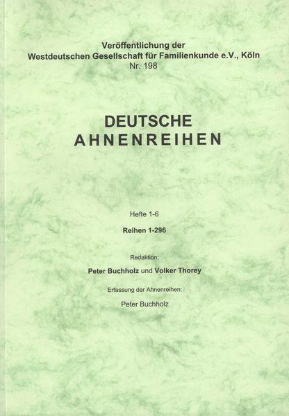 Deutsche Ahnenreihen Heft 01- 06