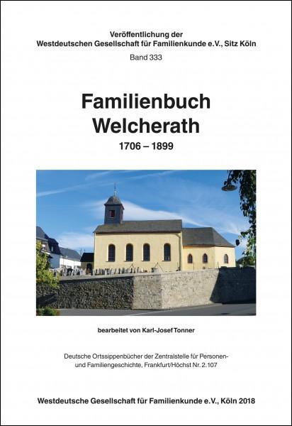 Familienbuch Welcherath 1706-1899