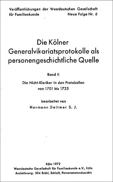 GVP - Bd. 02: 1701 - 1725