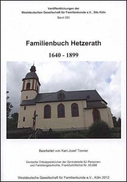 Familienbuch Hetzerath