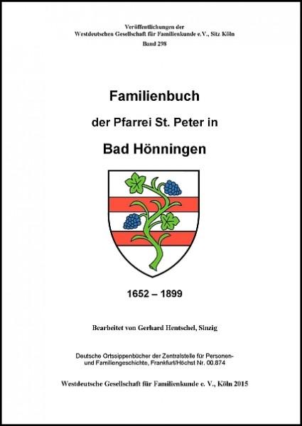 Familienbuch Bad Hönningen 1652 - 1899
