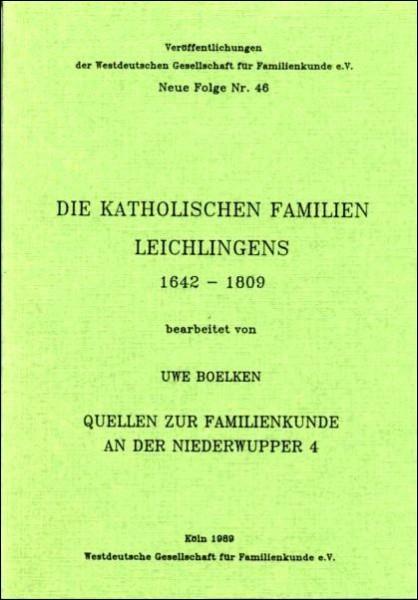 Familienbuch Leichlingen