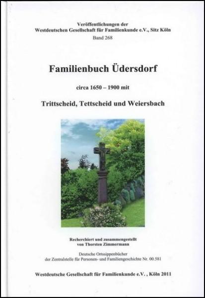Familienbuch Üdersdorf