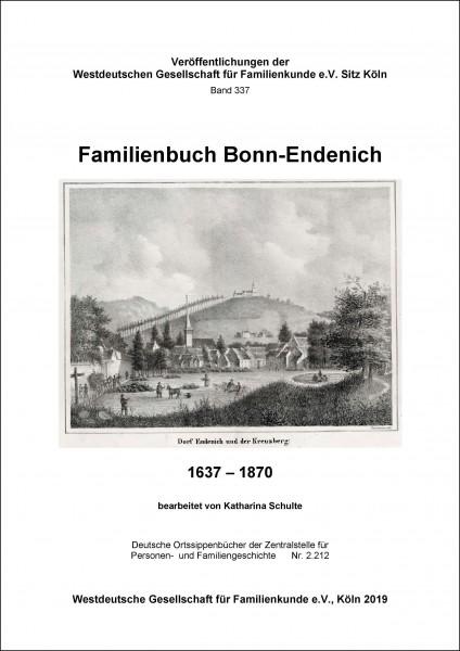 Familienbuch Bonn - Endenich 1637-1870