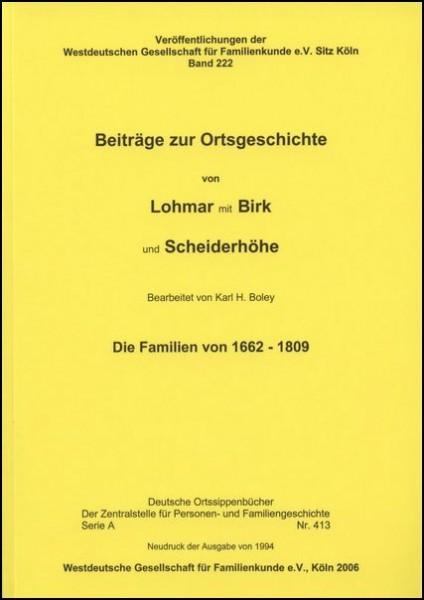 Familienbuch Lohmar