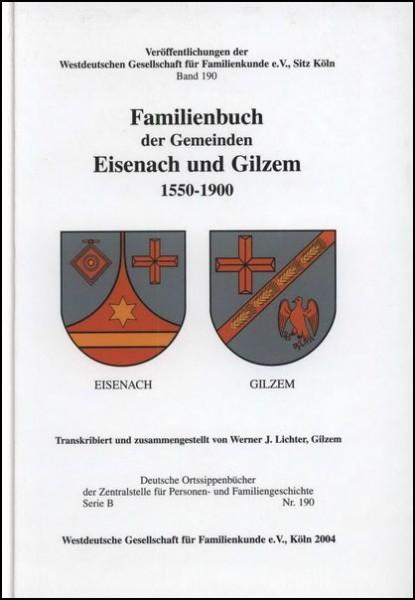 Familienbuch Eisenach / Gilzem