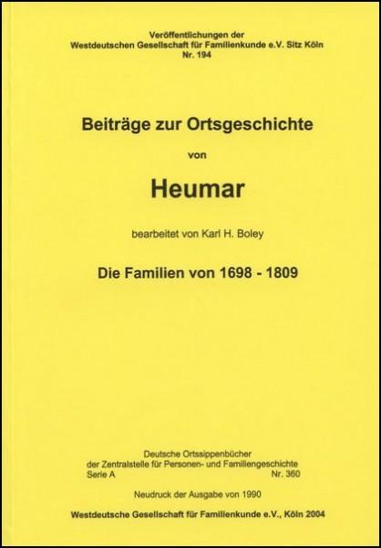 Familienbuch Heumar (Köln)