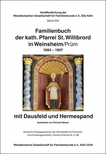 Familienbuch Weinsheim / Prüm 1684-1907