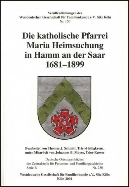 Familienbuch Hamm (Saar)