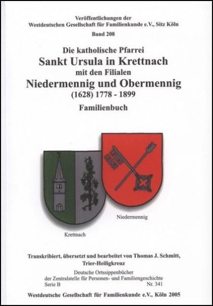 Familienbuch Krettnach / Niedermennig / Obermennig