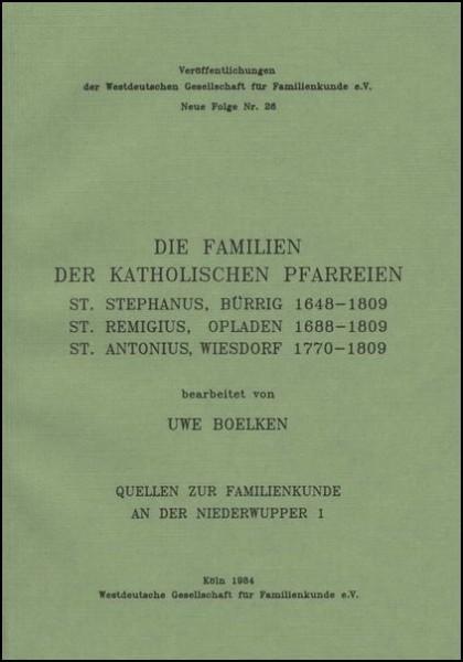 Familienbuch Bürrig
