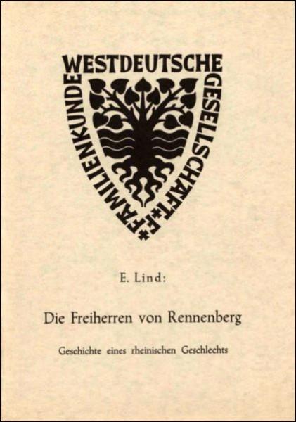 Die Freiherren von Rennenberg