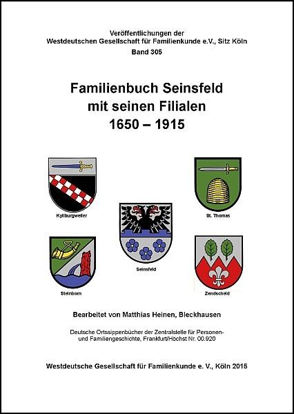 Familienbuch Seinsfeld 1650-1915